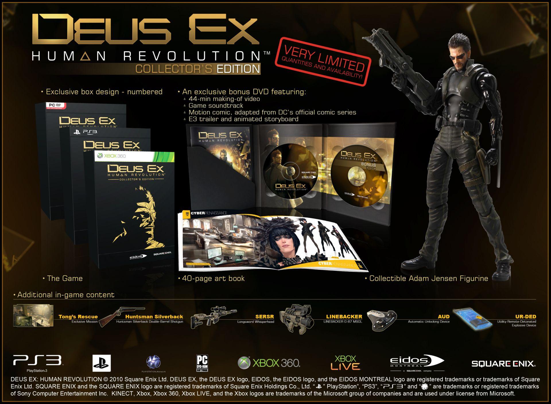 Jak si vybrat edici Deus Ex: Human Revolution 48407