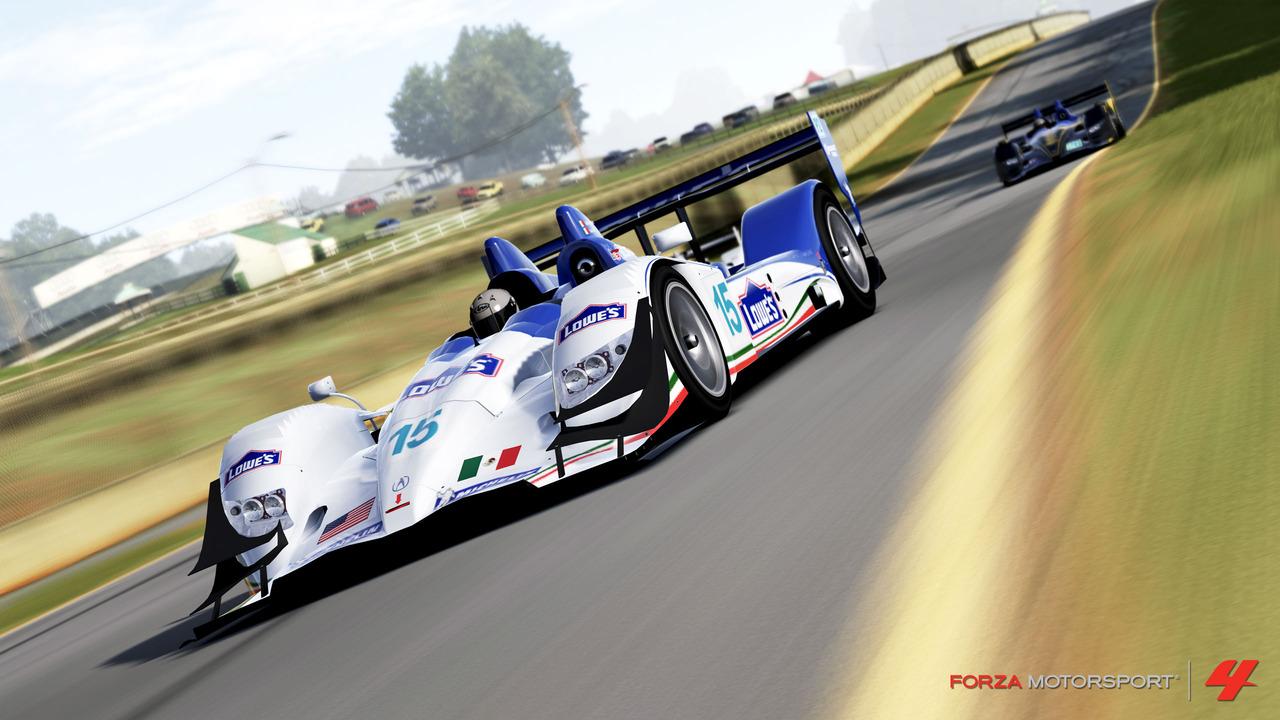 Forza 4 slaví licenci Le Mans 48596