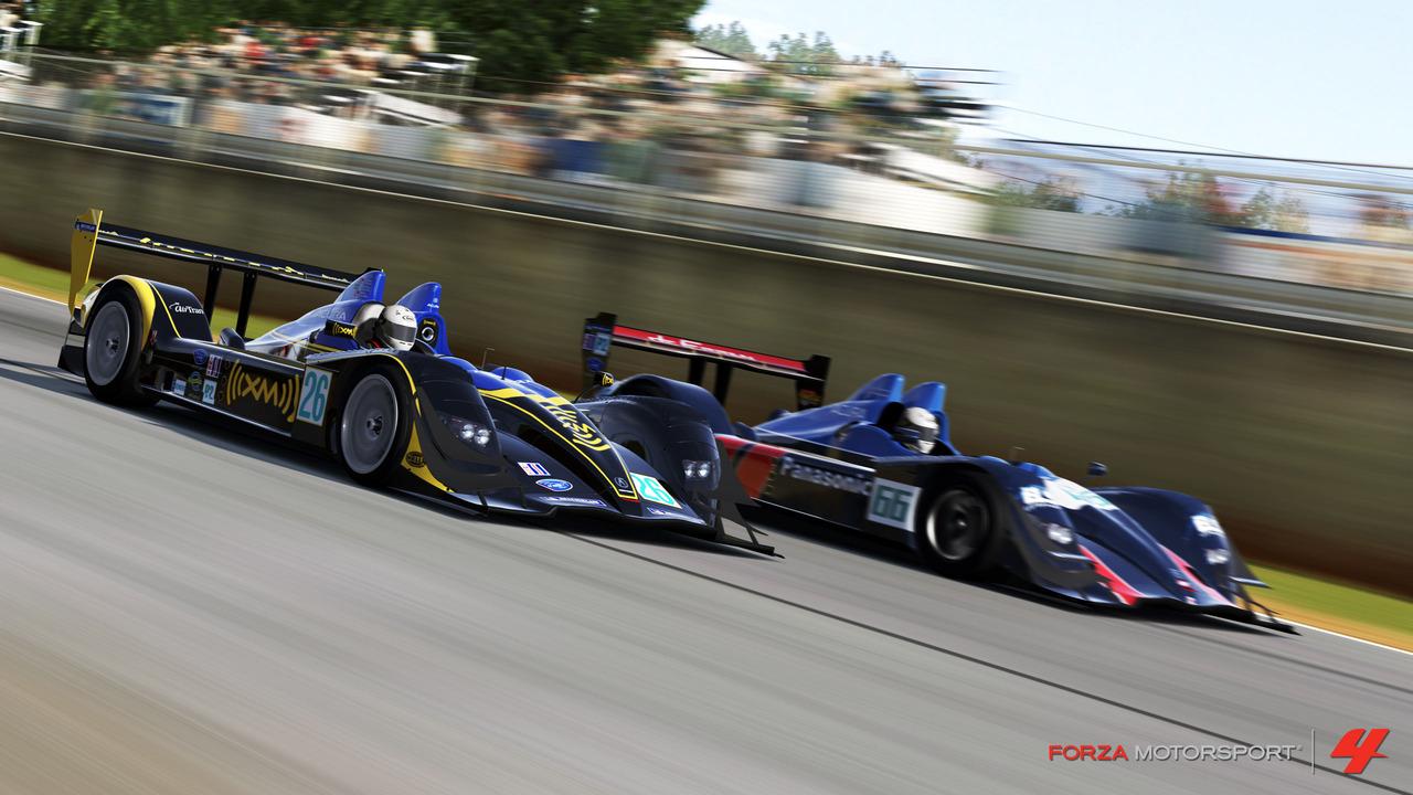 Forza 4 slaví licenci Le Mans 48597