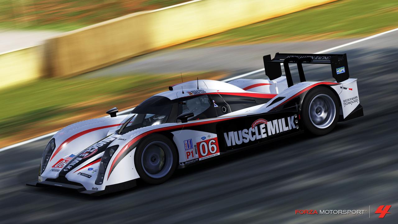 Forza 4 slaví licenci Le Mans 48602