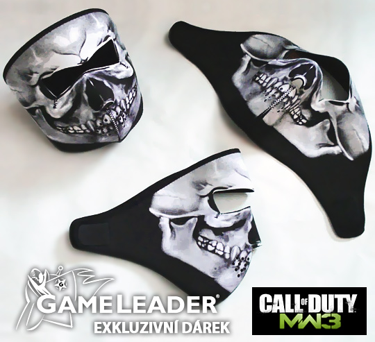 Získejte masku Ghosta k Modern Warfare 3 48671