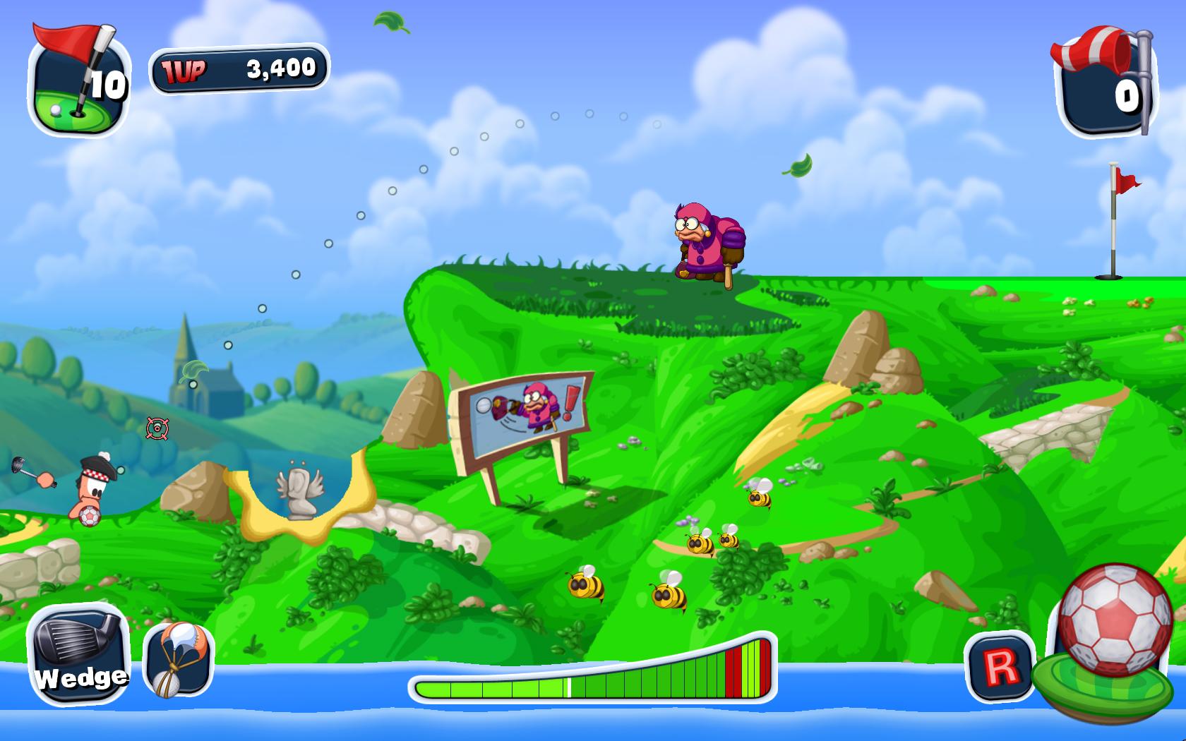 Koncem roku vyjde Worms Crazy Golf 49116