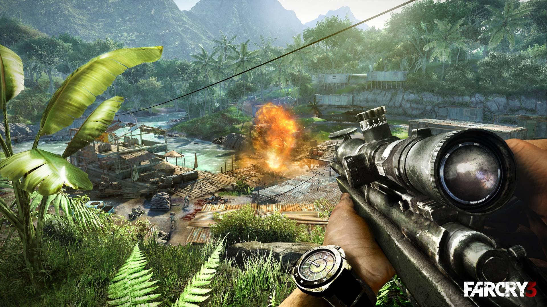 Far Cry 3 v čerstvých detailech 49611