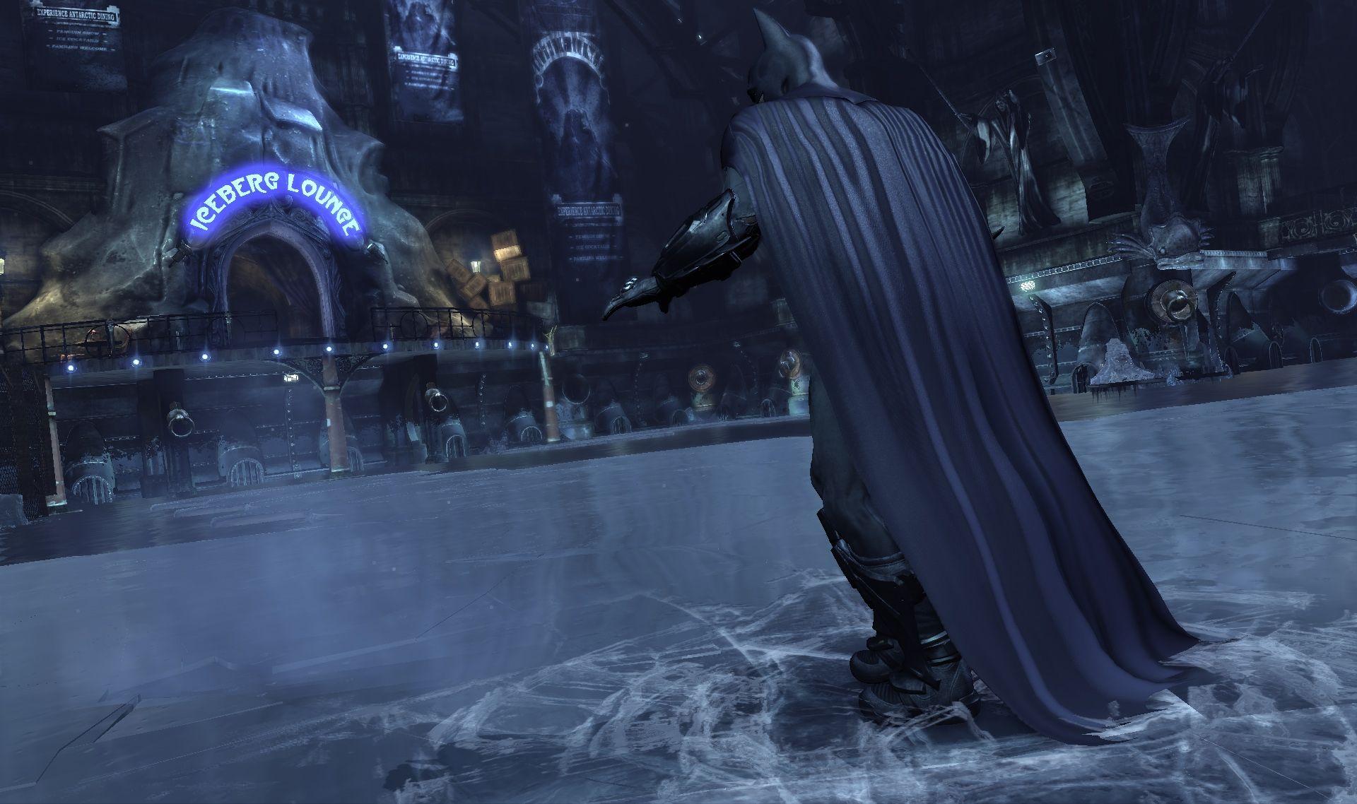 Batman: Arkham City – souboje, Mr. Freeze a příběh 49624