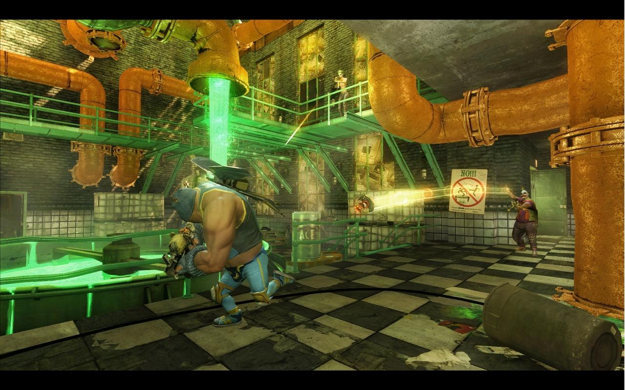 Gotham City Impostors - béčkové Team Fortress 49685
