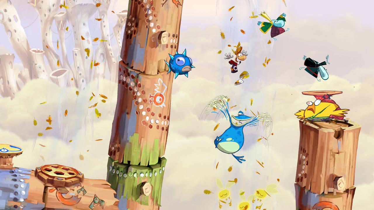 GC: Trailer a obrázky z Rayman Origins 49706