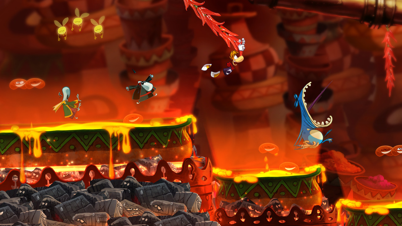 GC: Trailer a obrázky z Rayman Origins 49707