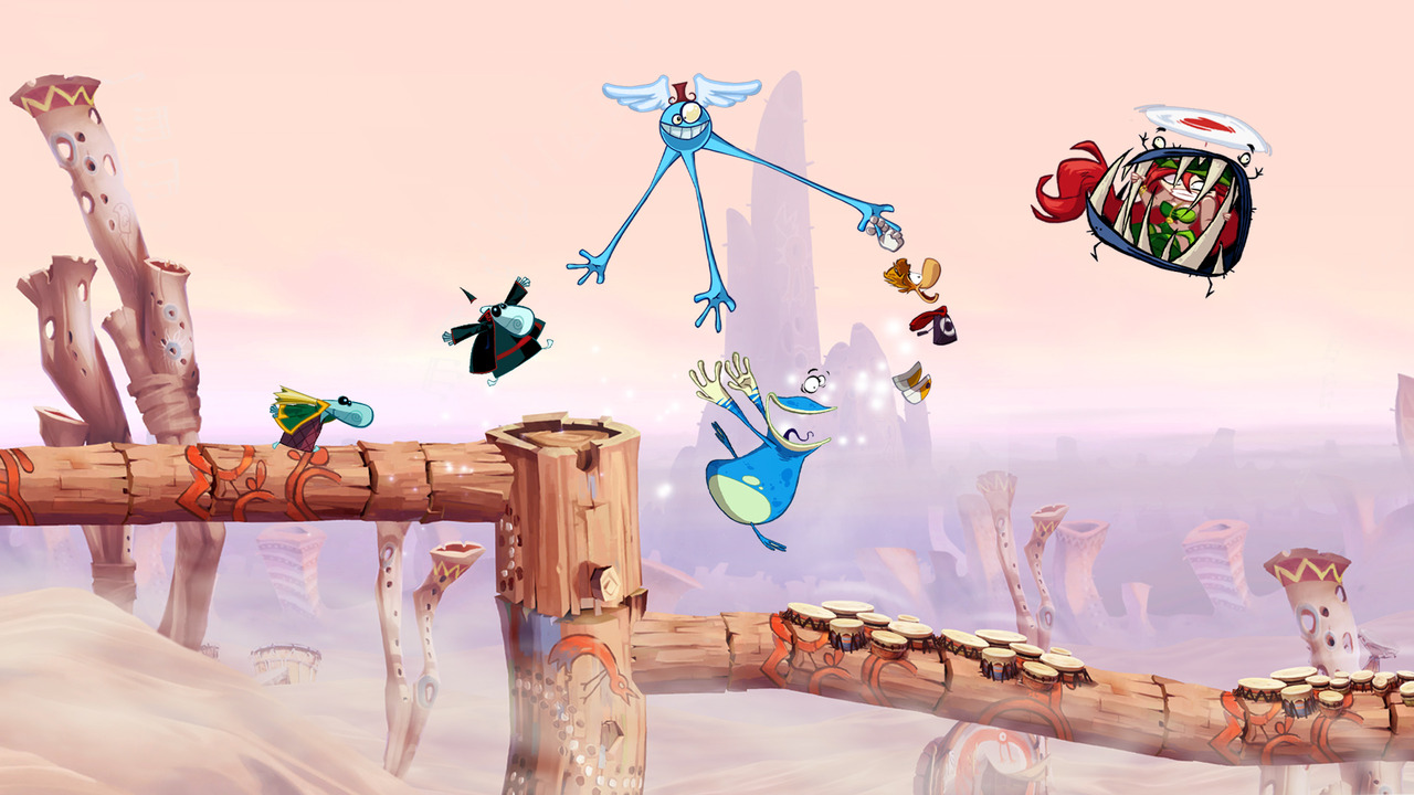 GC: Trailer a obrázky z Rayman Origins 49710