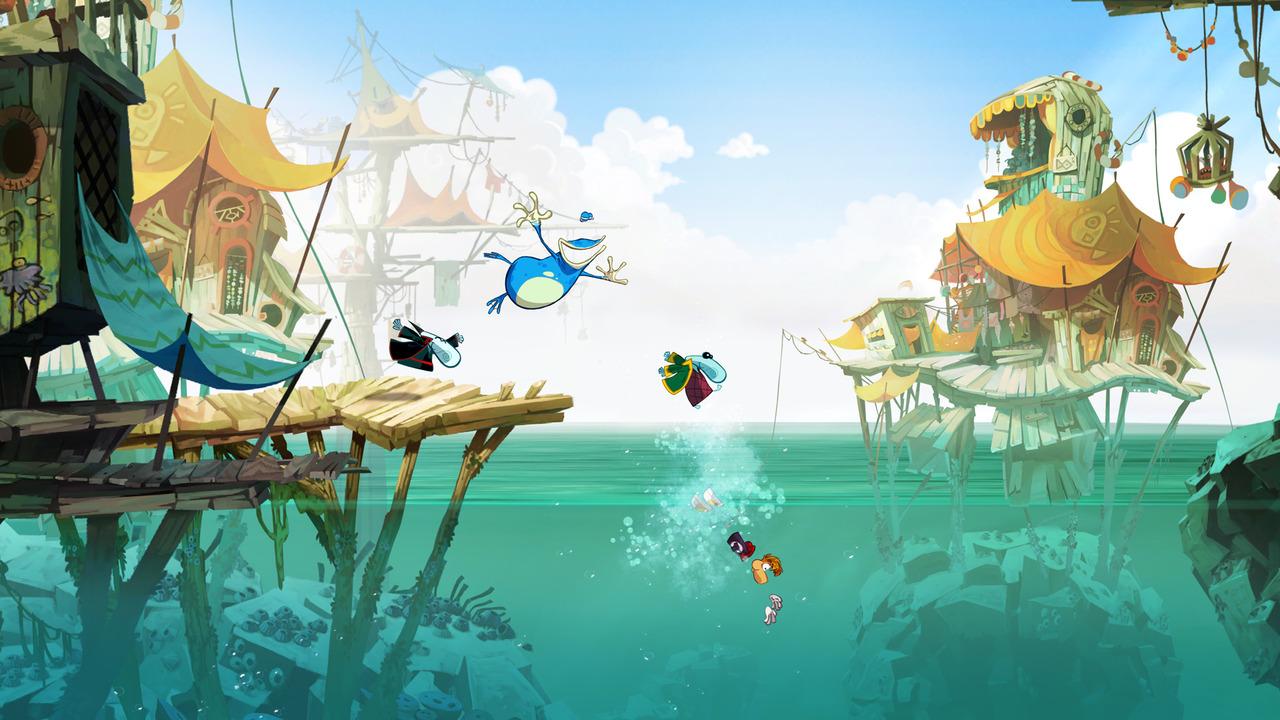 GC: Trailer a obrázky z Rayman Origins 49711