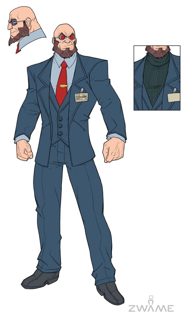 Batman: Arkham City – nové obrázky a concept art 50622