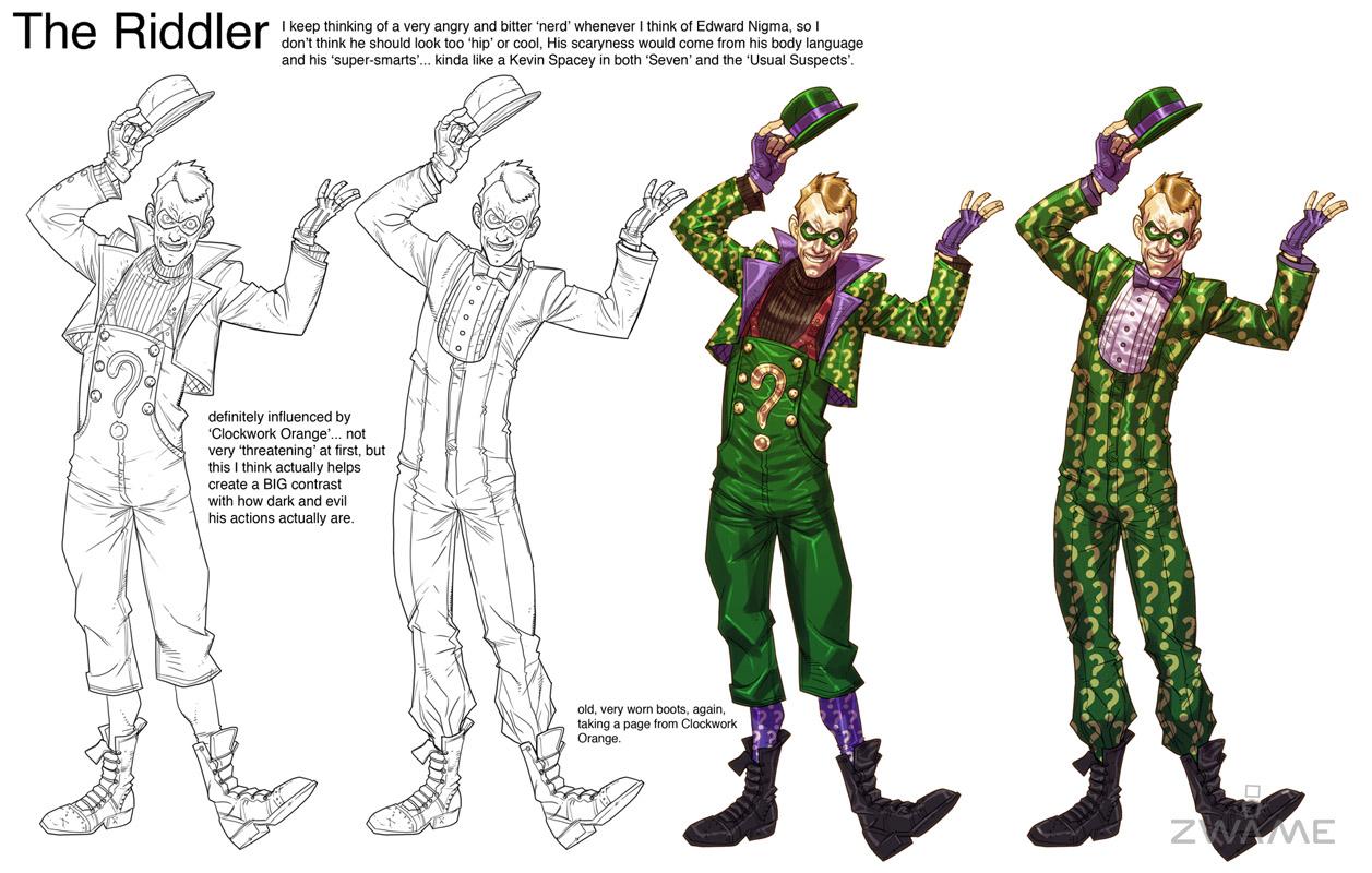 Batman: Arkham City – nové obrázky a concept art 50636