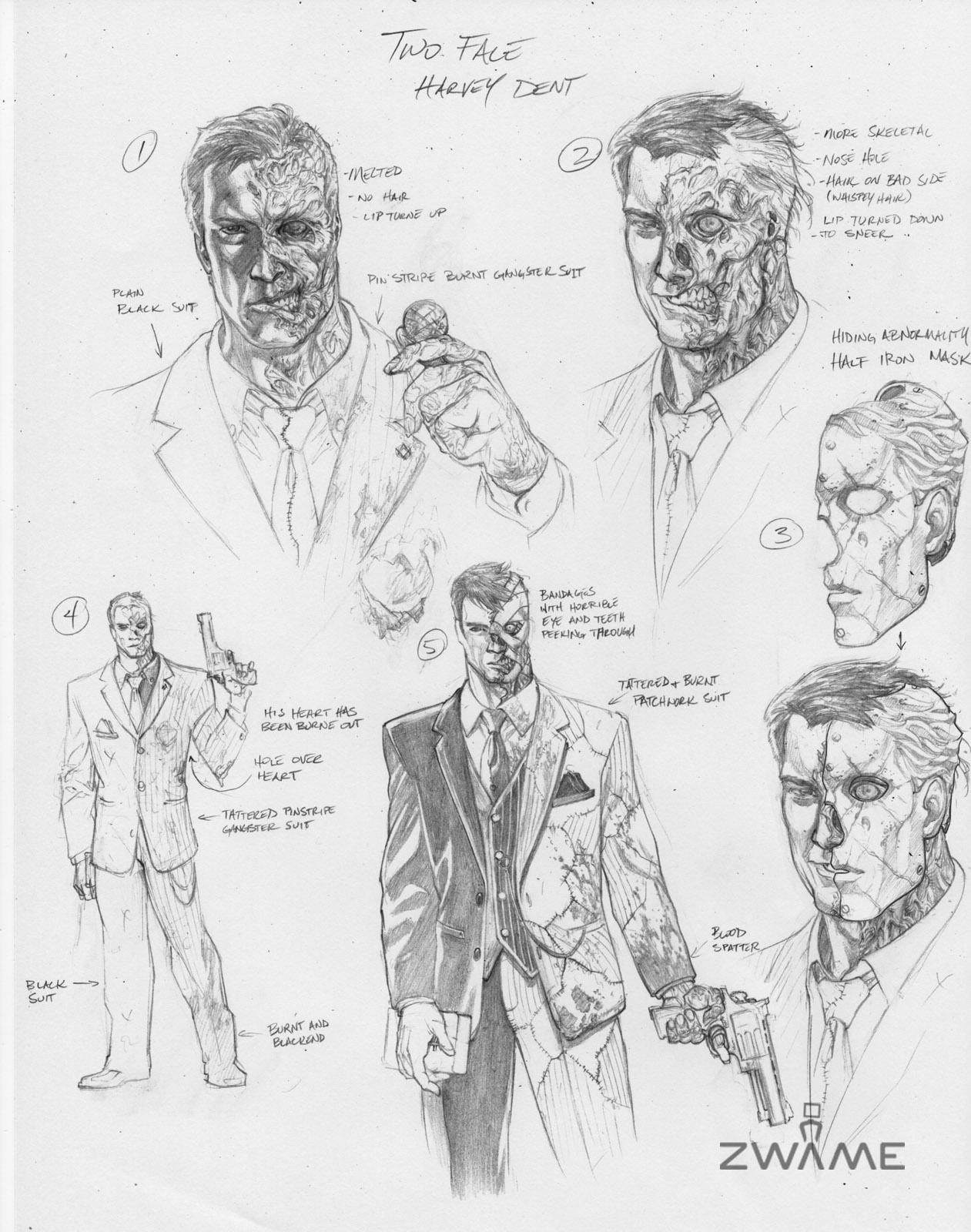 Batman: Arkham City – nové obrázky a concept art 50639