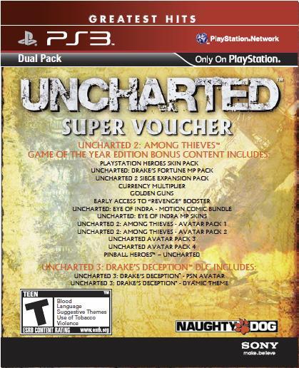 Kupte si Uncharted v duálním balíčku 50768