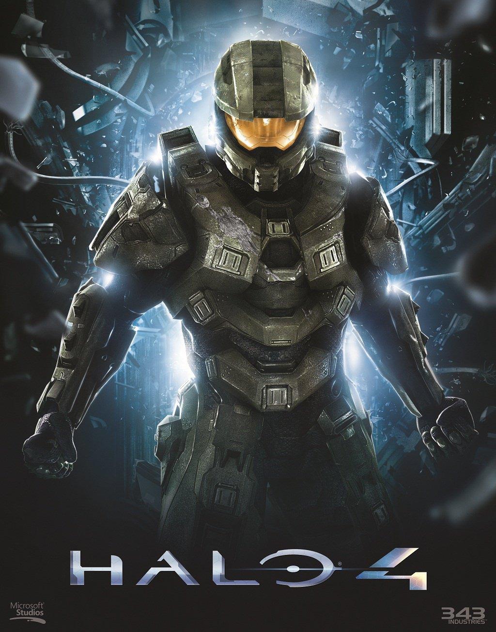 Master Chief na novém artworku z Halo 4 50872