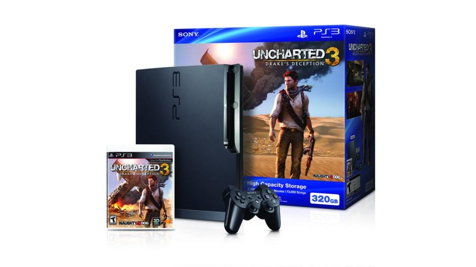 Uncharted 3 k mání i v PS3 balíčku 52321