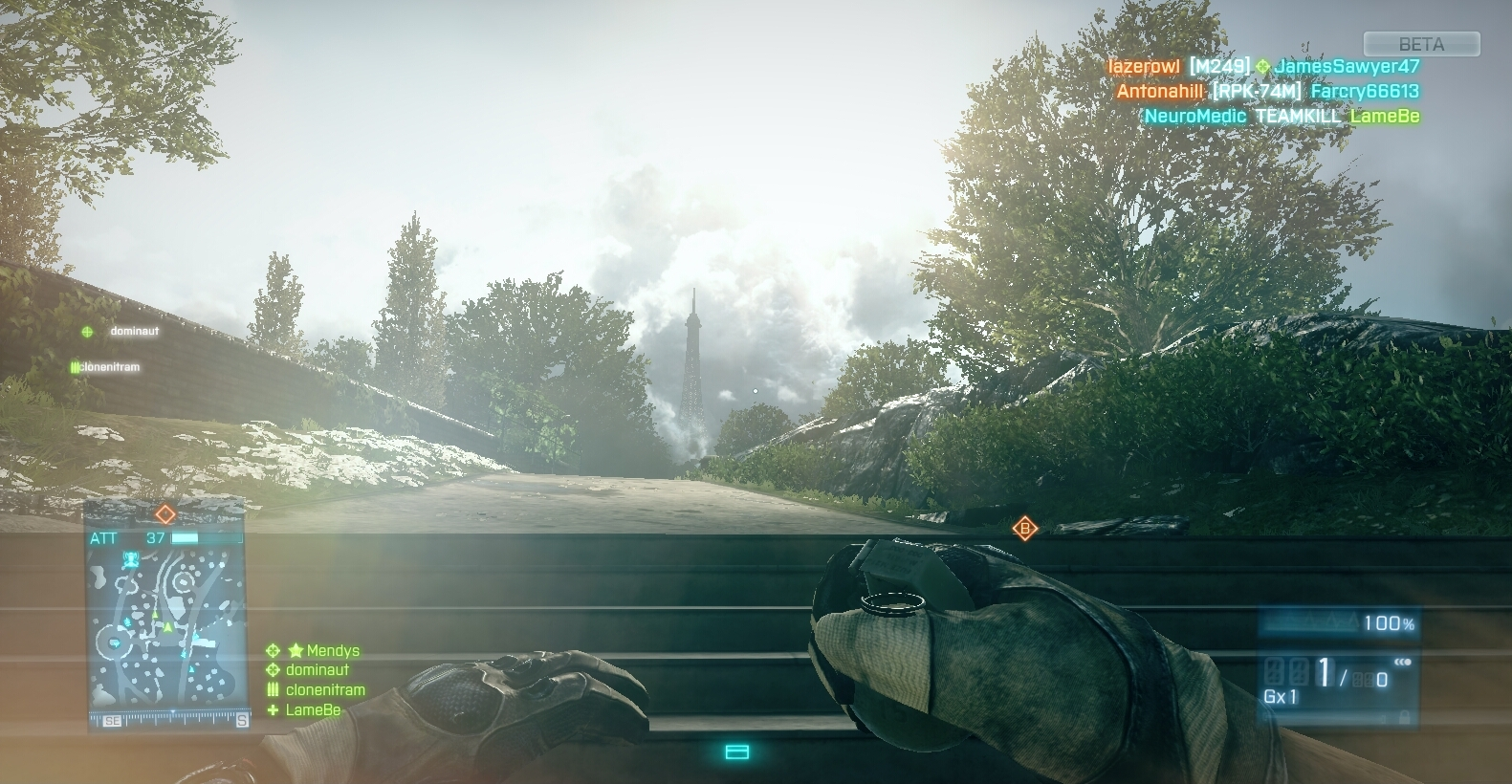 Battlefield 3 MP Beta – dojmy z hraní 52542
