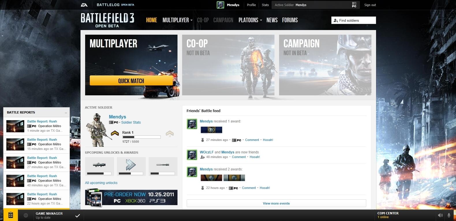 Battlefield 3 MP Beta – dojmy z hraní 52573