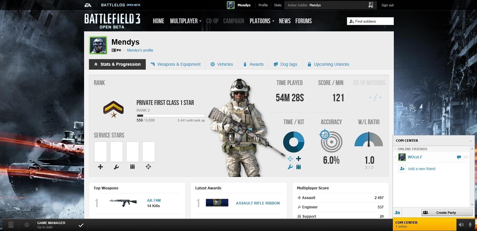 Battlefield 3 MP Beta – dojmy z hraní 52574