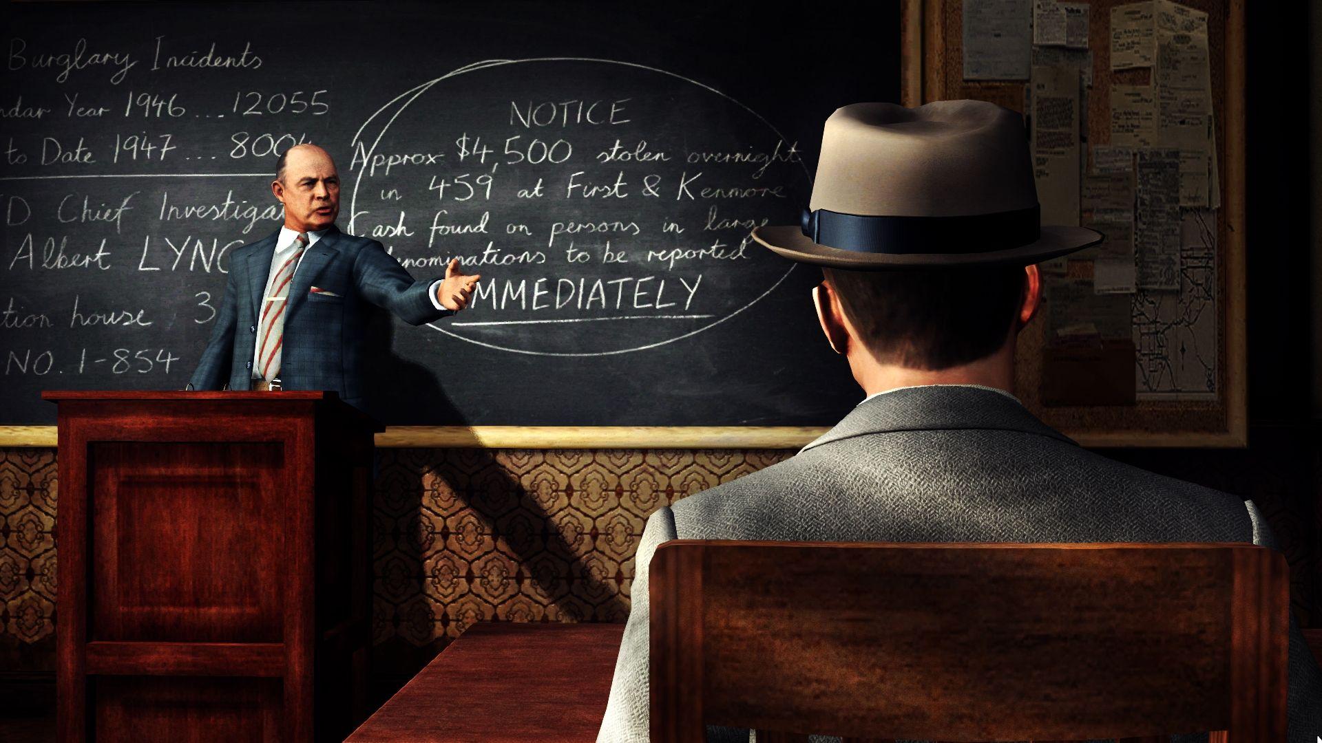 První obrázky z PC verze L.A. Noire 52697