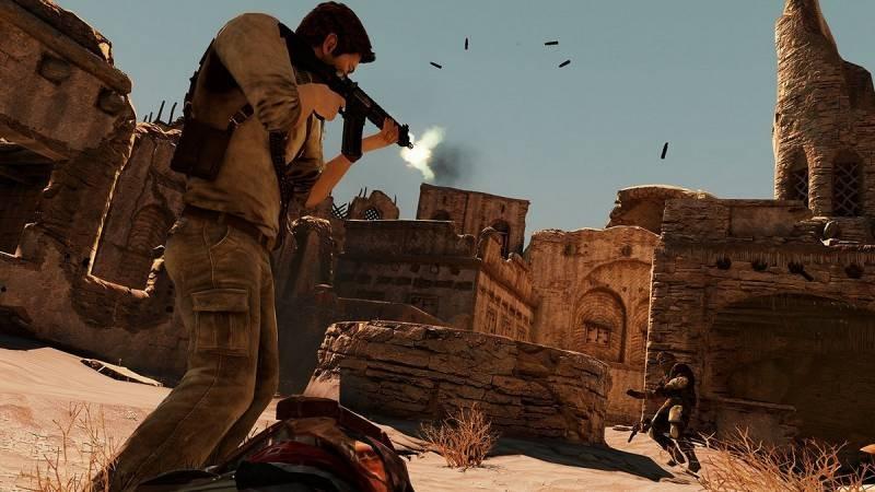 Uncharted 3 ukazuje pouštní město 53174