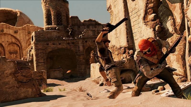 Uncharted 3 ukazuje pouštní město 53175
