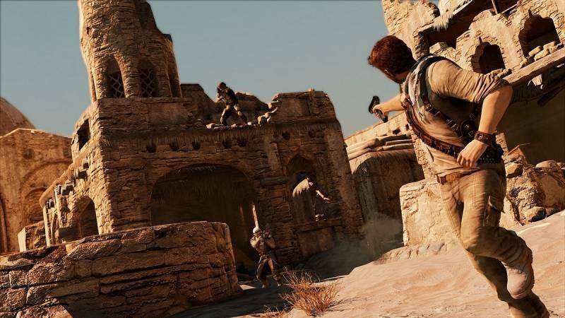 Uncharted 3 ukazuje pouštní město 53176