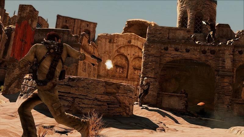 Uncharted 3 ukazuje pouštní město 53177