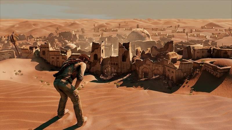 Uncharted 3 ukazuje pouštní město 53178