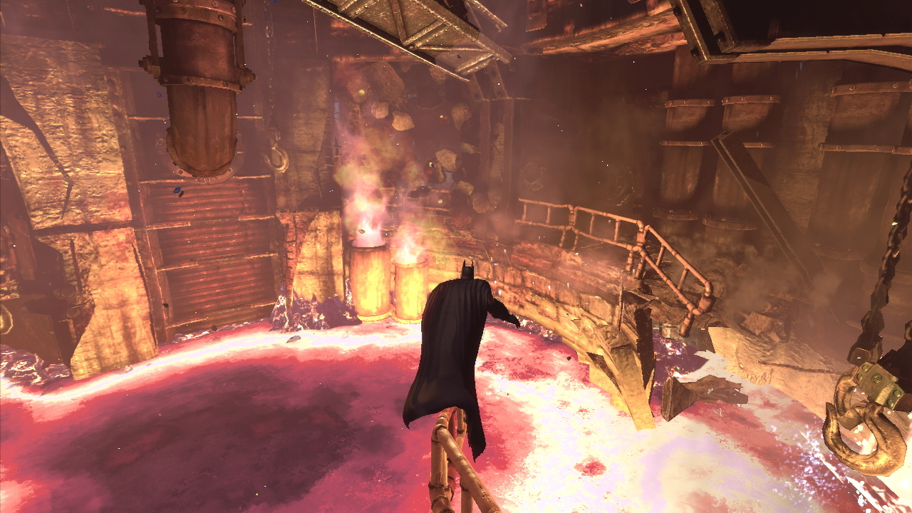 Batman - fotoseriál z Arkham City 53485