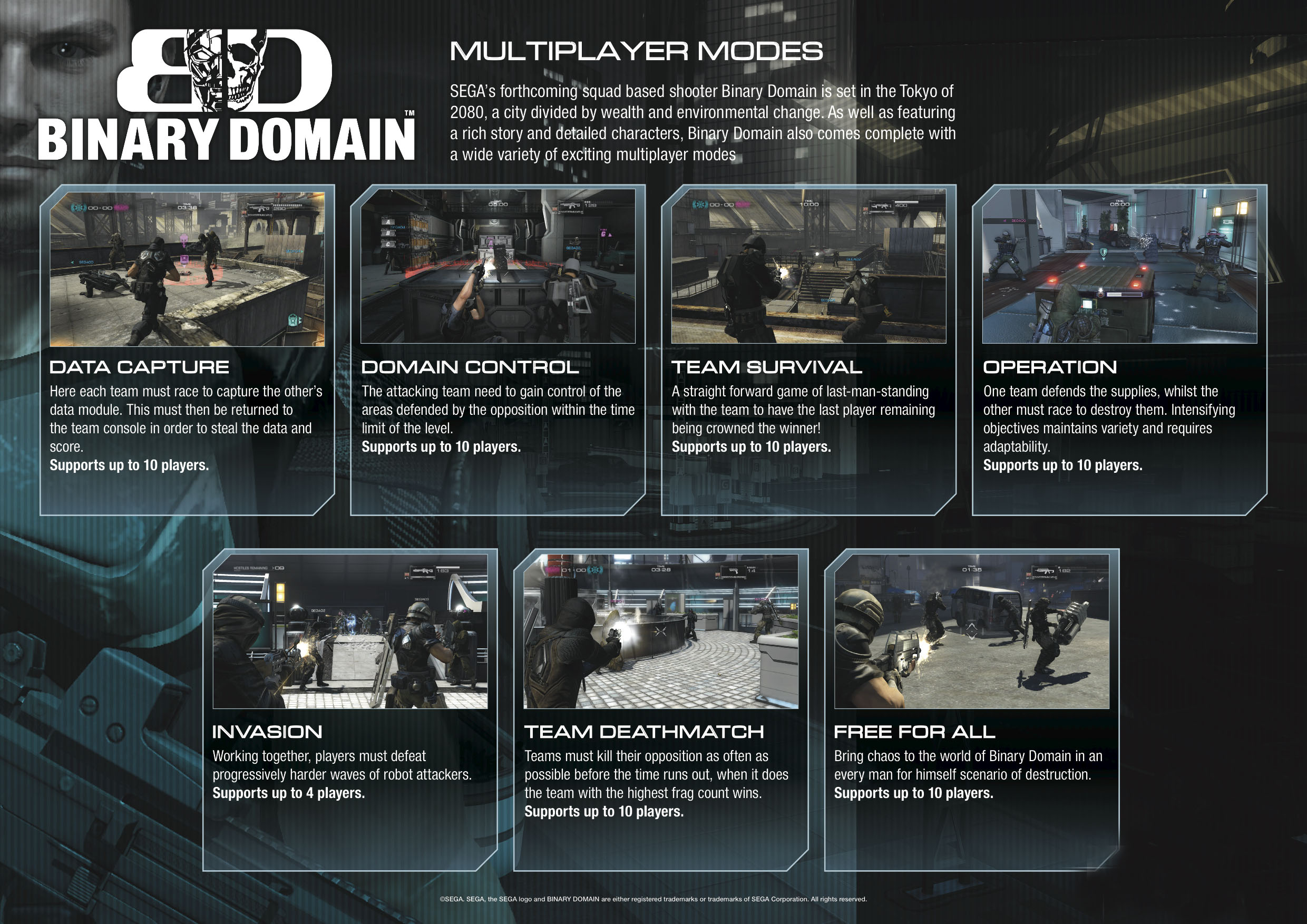 Detaily o multiplayer Binary Domain 53677