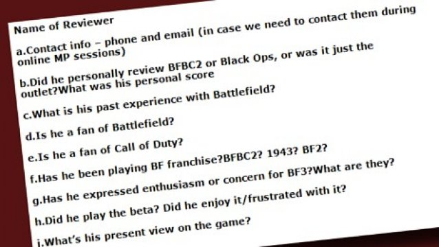 EA zkoušelo zmanipulovat recenzenty Battlefield 3 53745