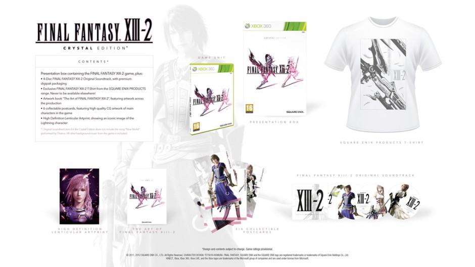 Final Fantasy XIII-2 odhaluje dvě exkluzivní edice 53750