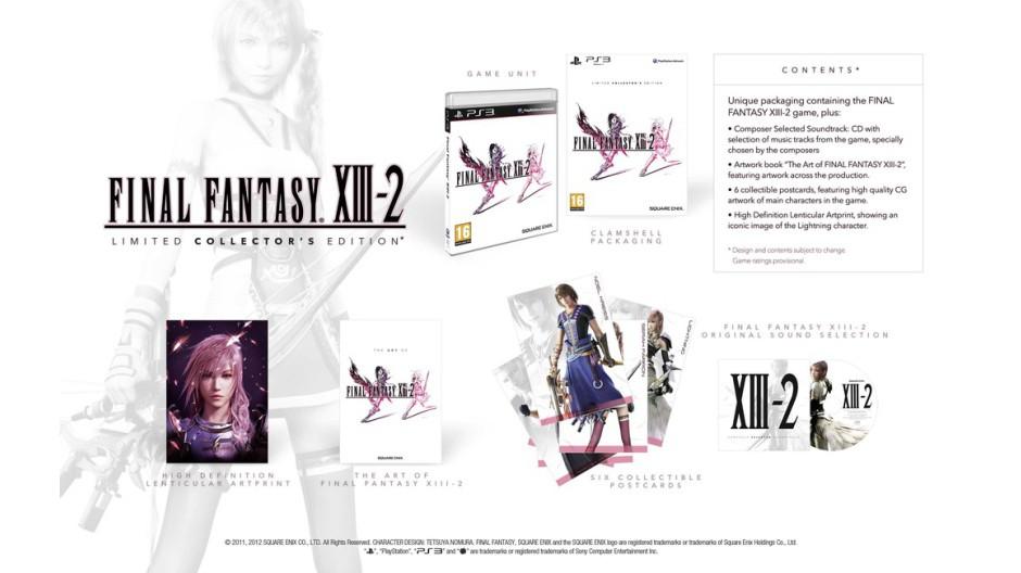 Final Fantasy XIII-2 odhaluje dvě exkluzivní edice 53751