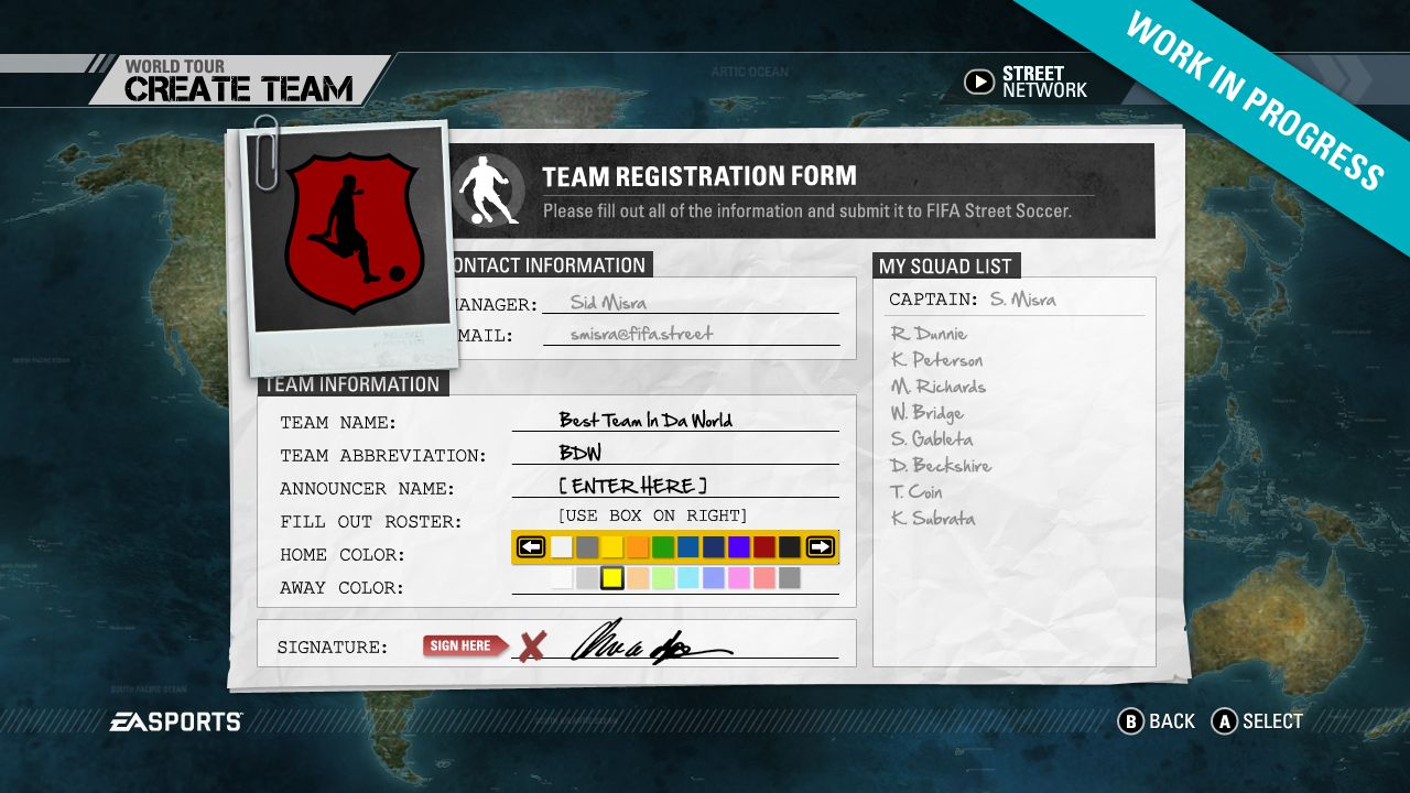 Screenshoty z FIFA Street 54260