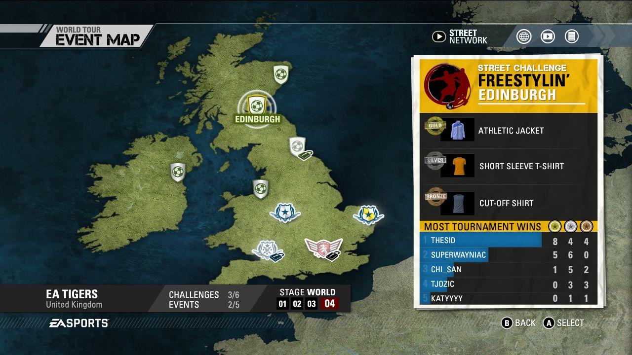 Screenshoty z FIFA Street 54261