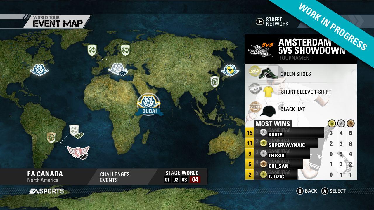 Screenshoty z FIFA Street 54262
