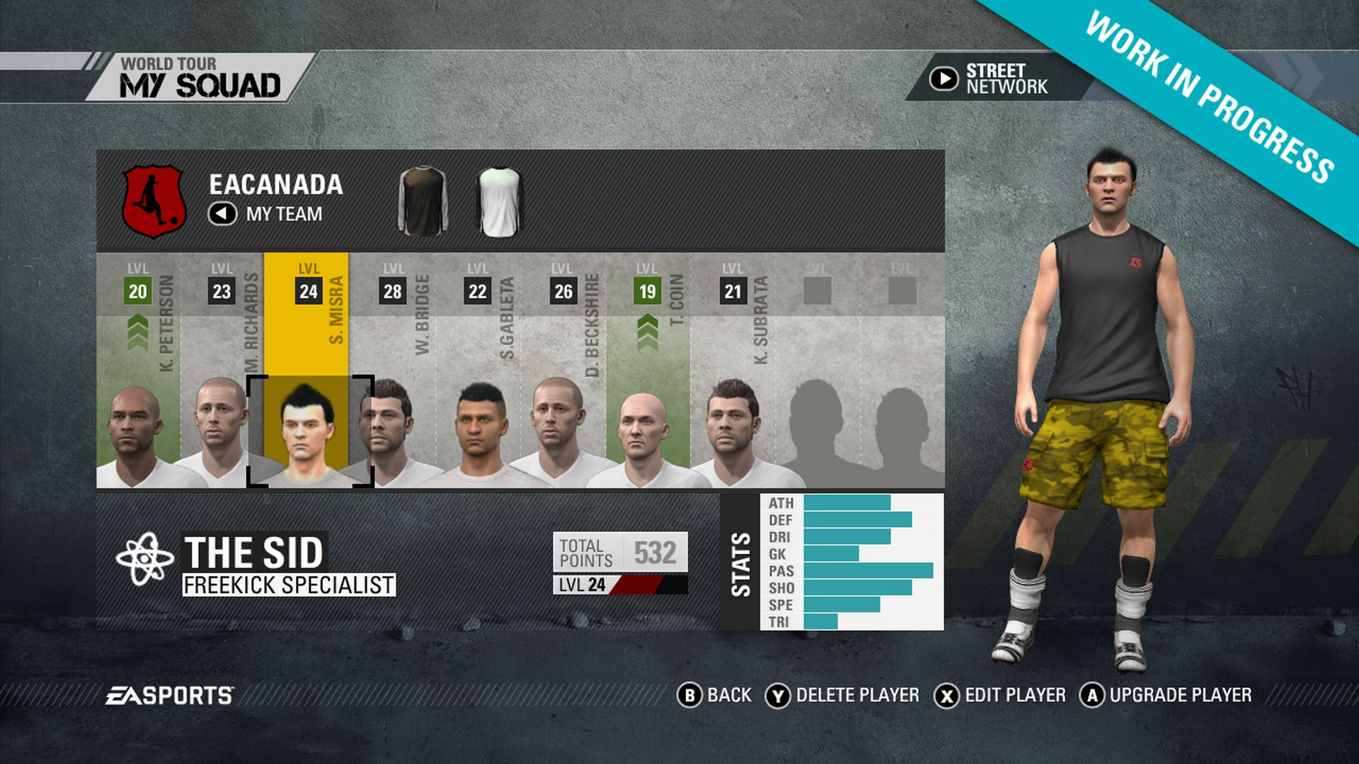 Screenshoty z FIFA Street 54263
