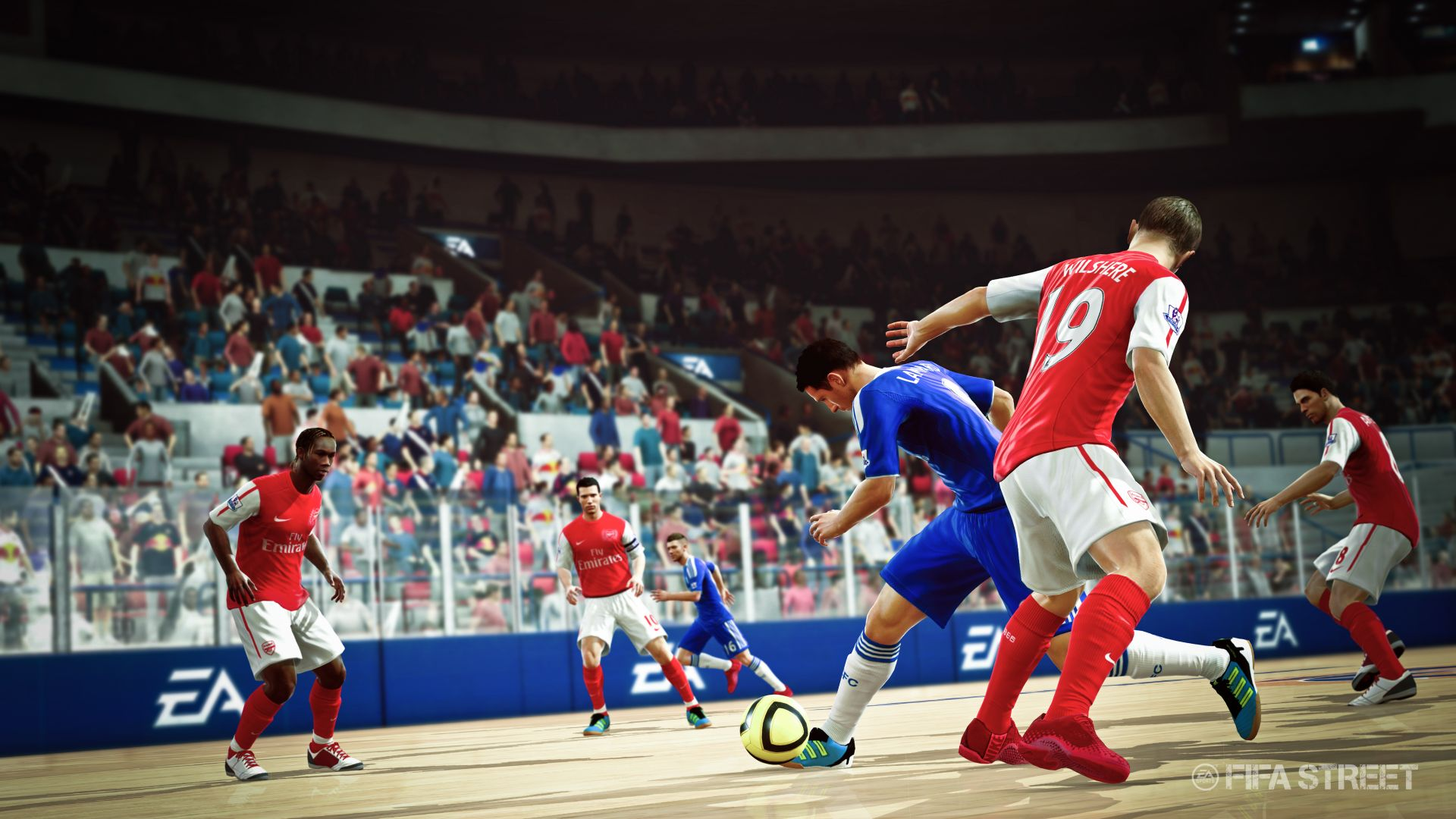 Screenshoty z FIFA Street 54264
