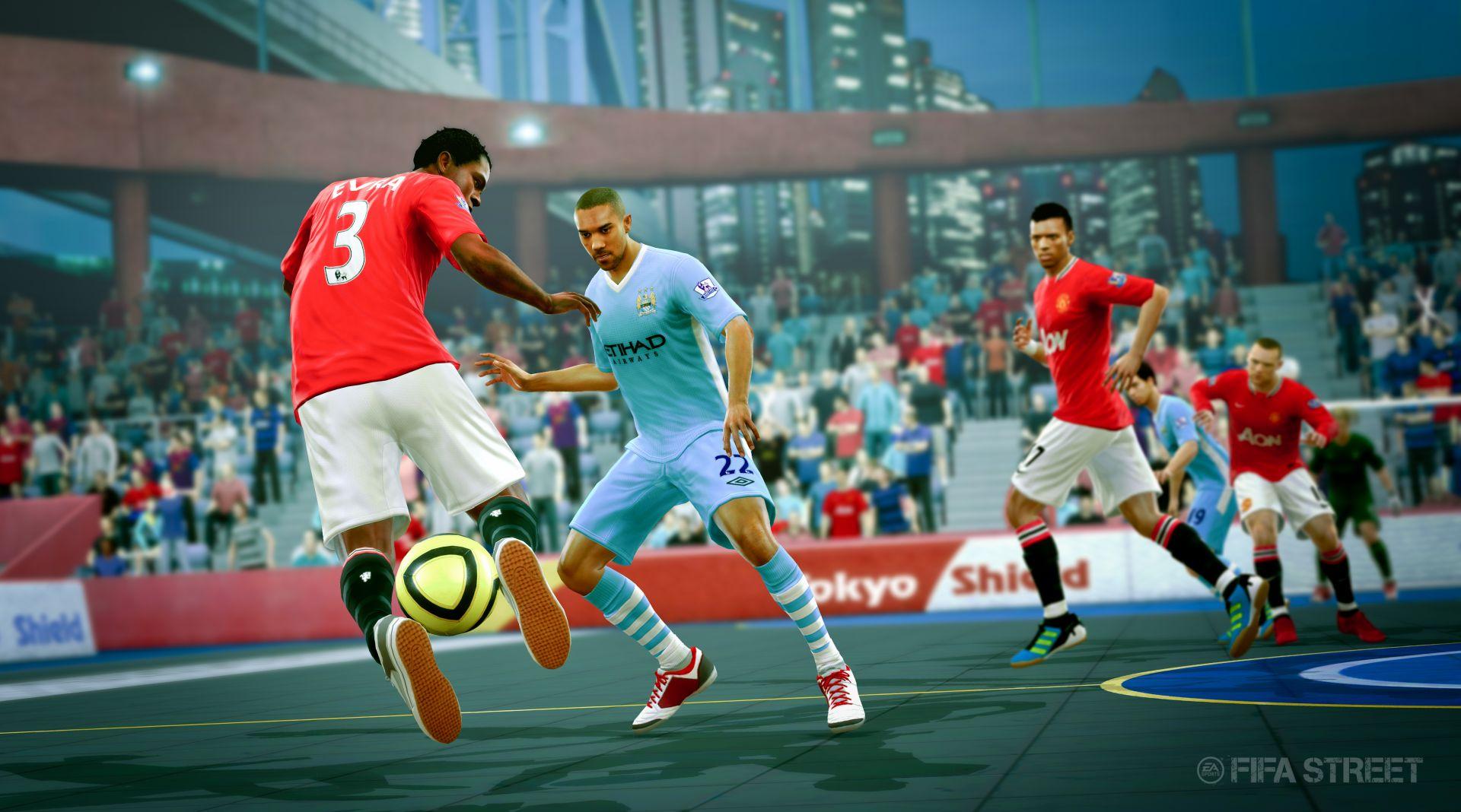 Screenshoty z FIFA Street 54265