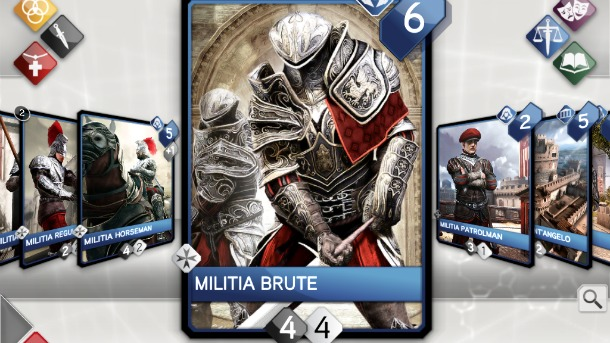 Karetní hra Assassin's Creed Recollection odhalena 54383
