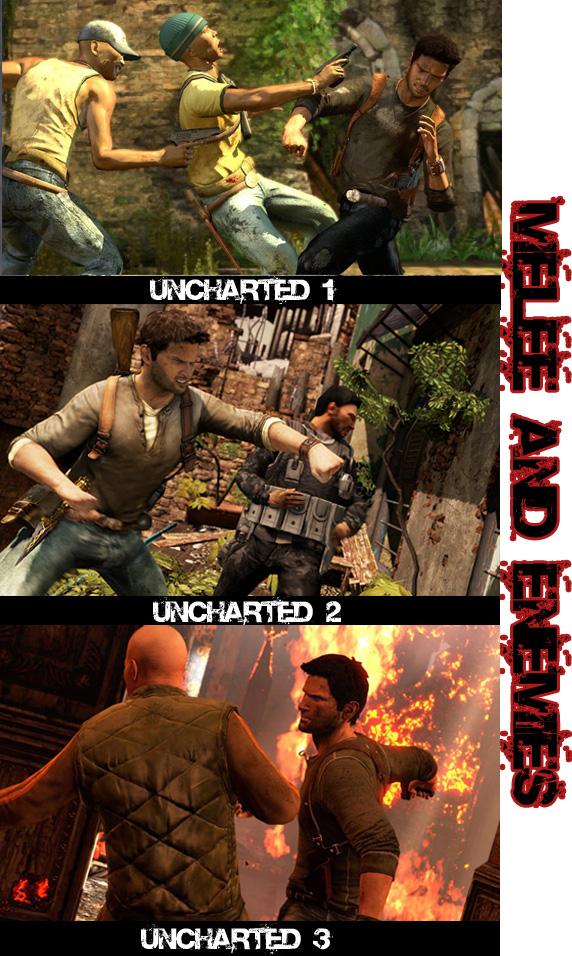 Porovnání tří dílů Uncharted 54475