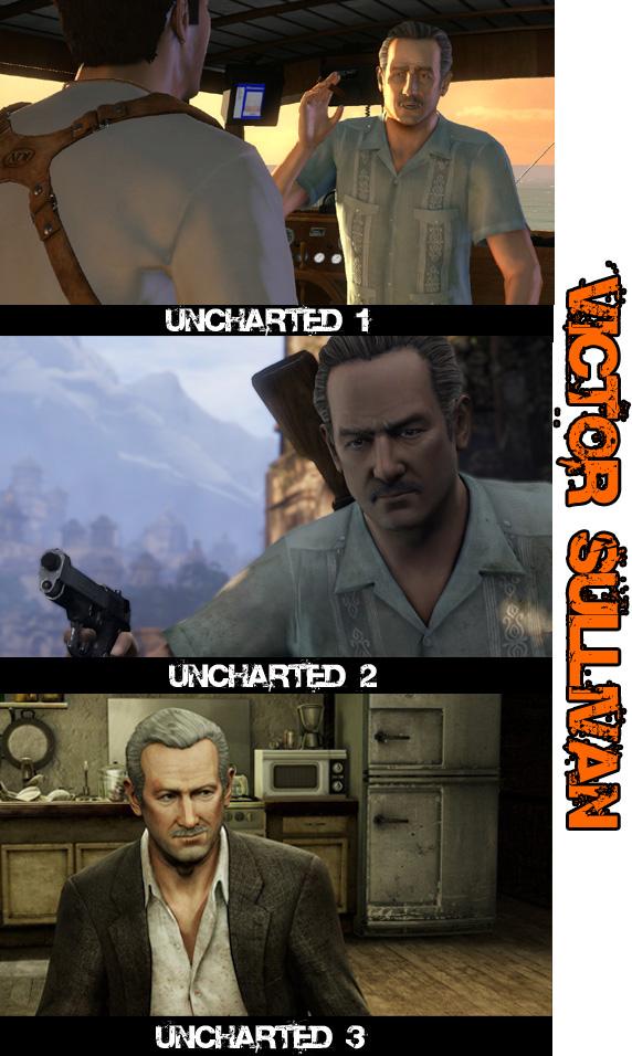 Porovnání tří dílů Uncharted 54476