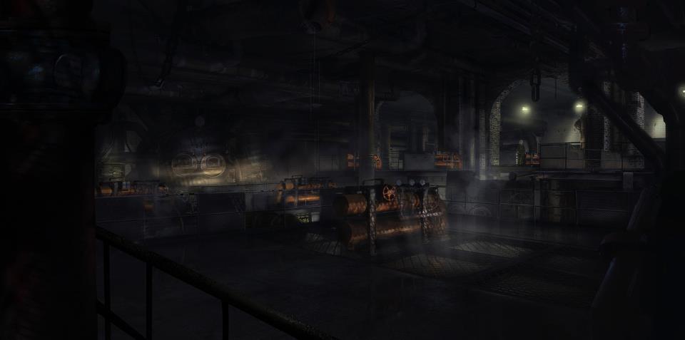 Tři artworky místností z Hitman: Absolution 54495