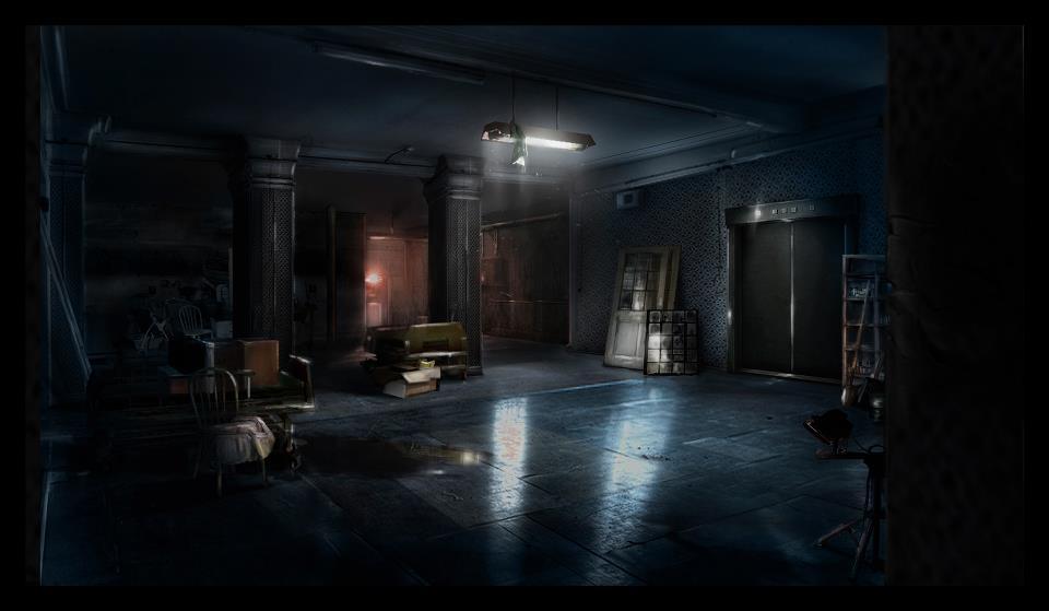 Tři artworky místností z Hitman: Absolution 54496