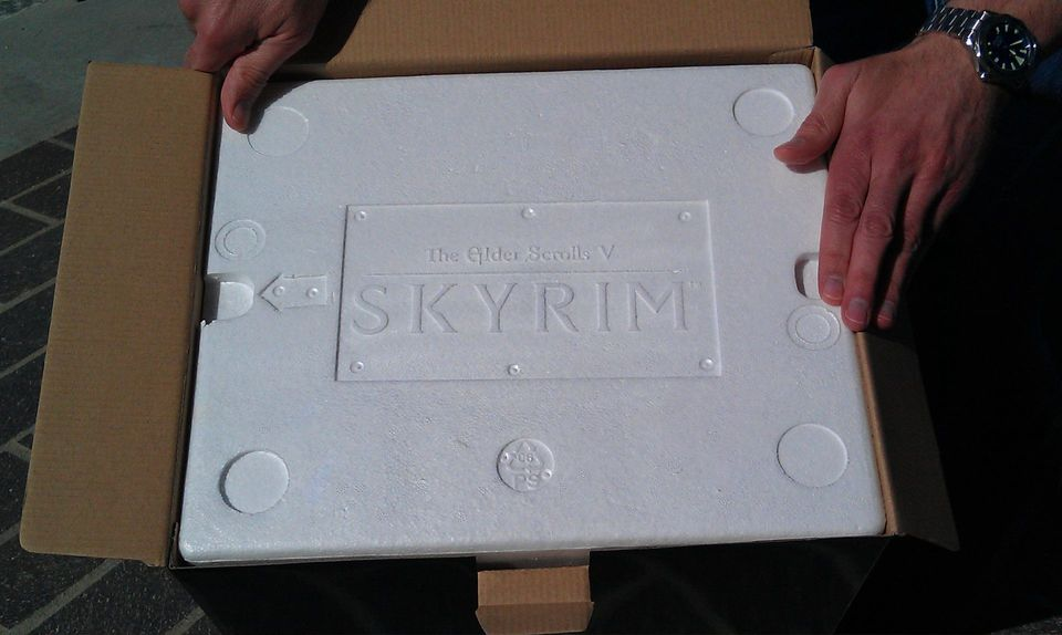 Otevření sběratelské edice TES V: Skyrim 54648