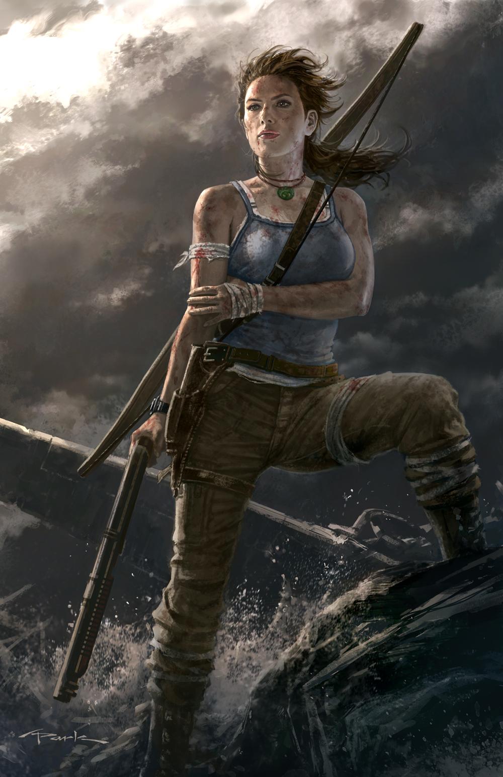 Tomb Raider slaví narozeniny uměním 54682