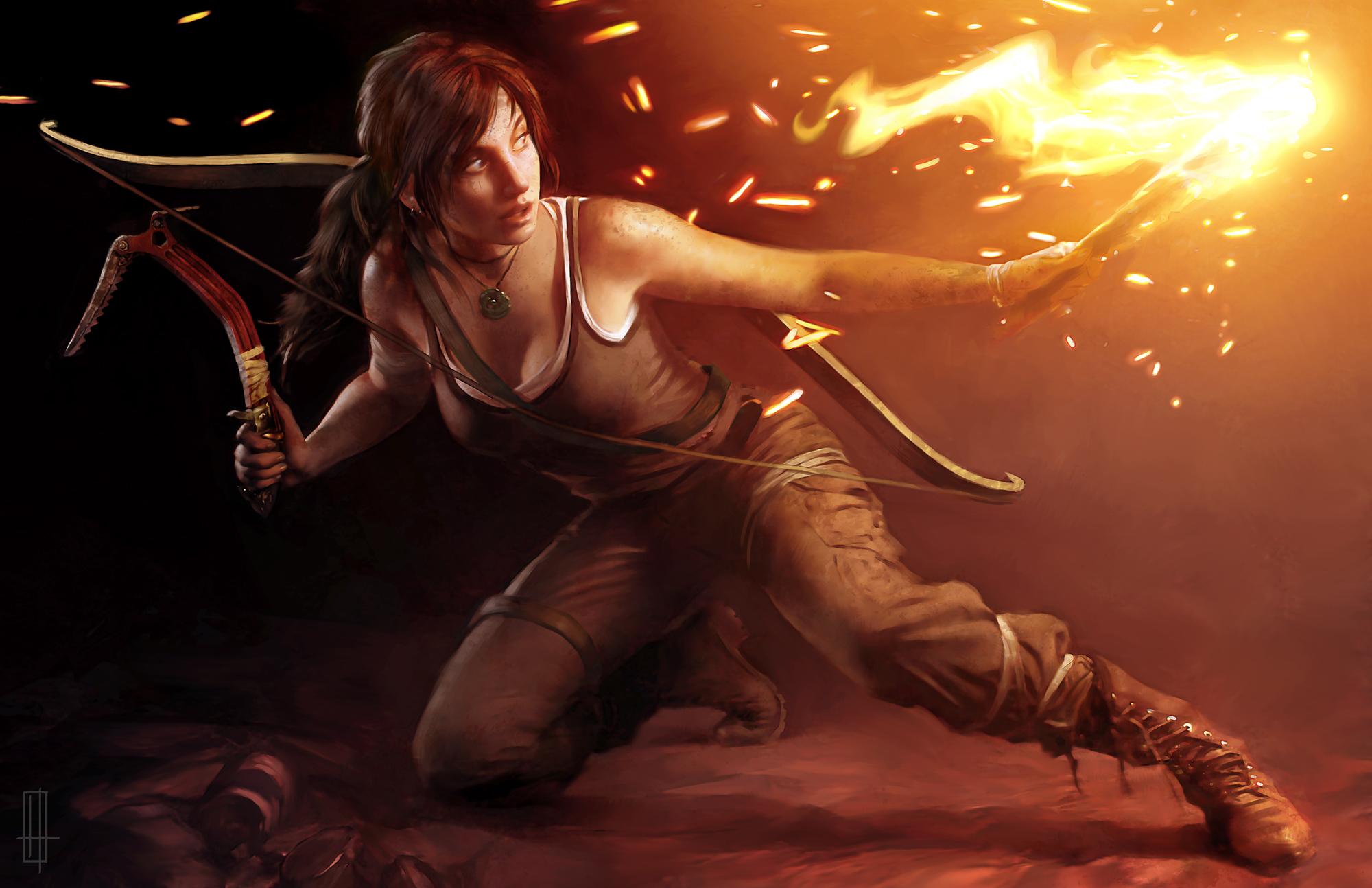 Tomb Raider slaví narozeniny uměním 54686
