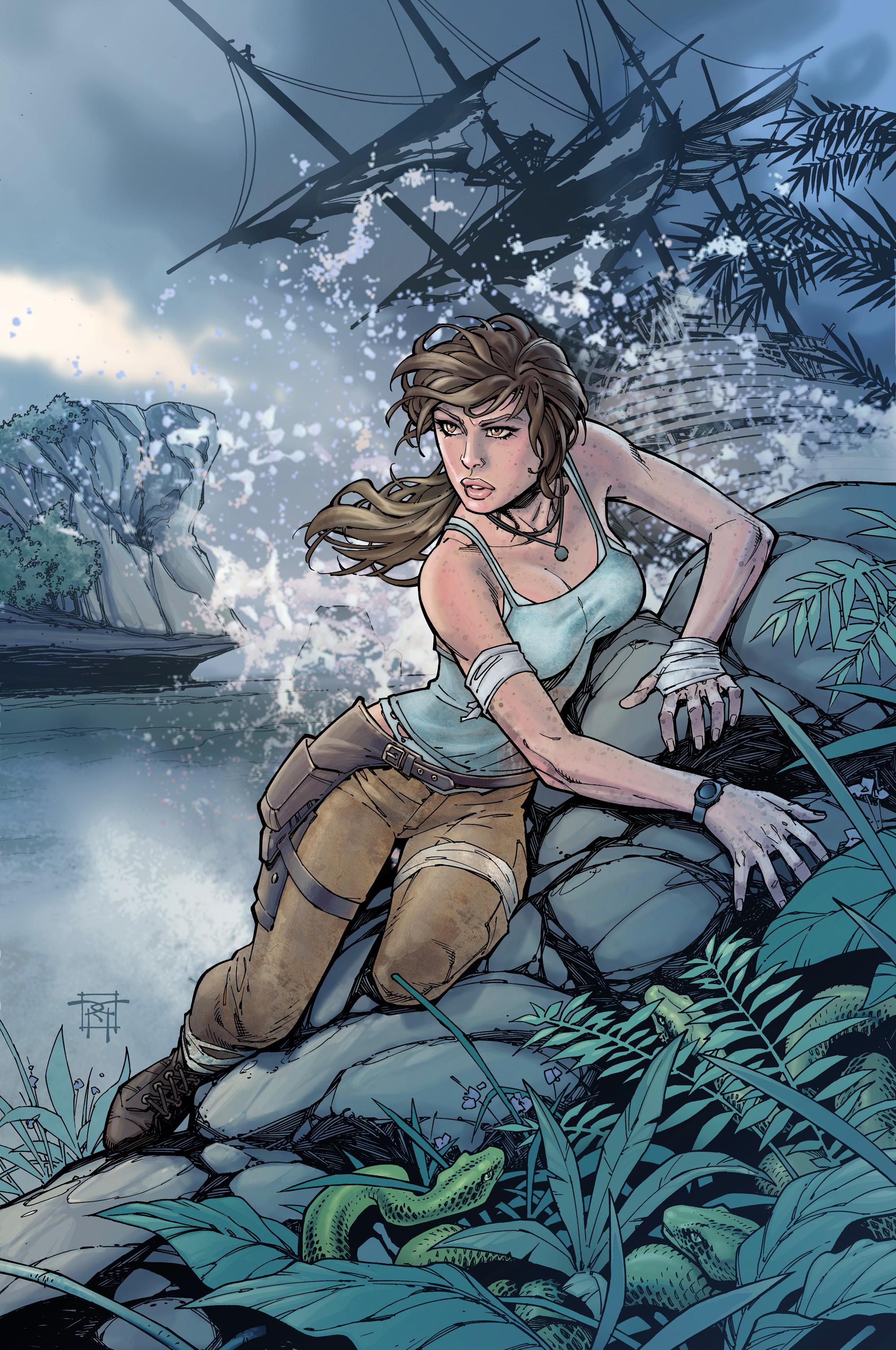 Tomb Raider slaví narozeniny uměním 54687