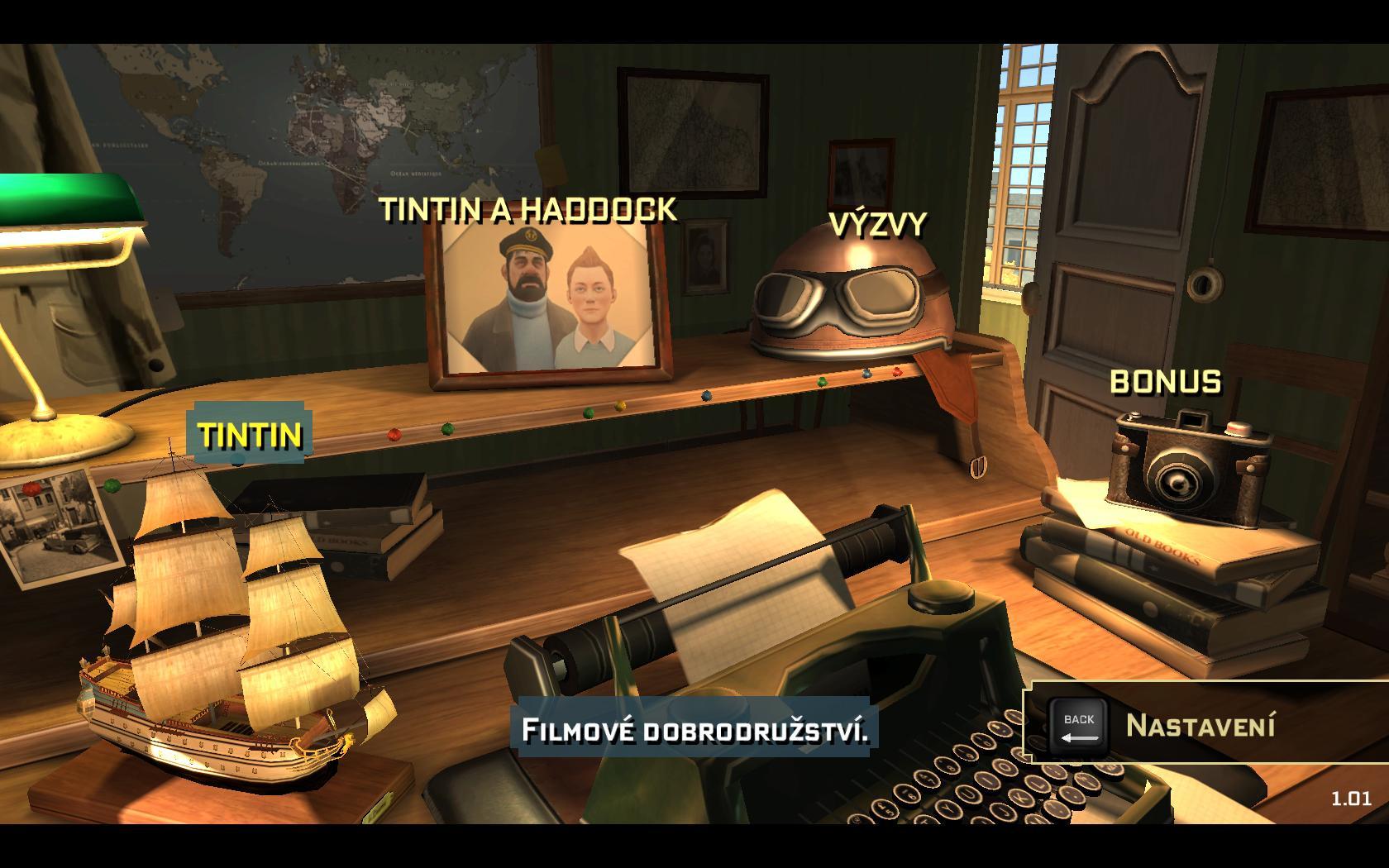 Tintinova dobrodružství - Návrat do dětských let 54691