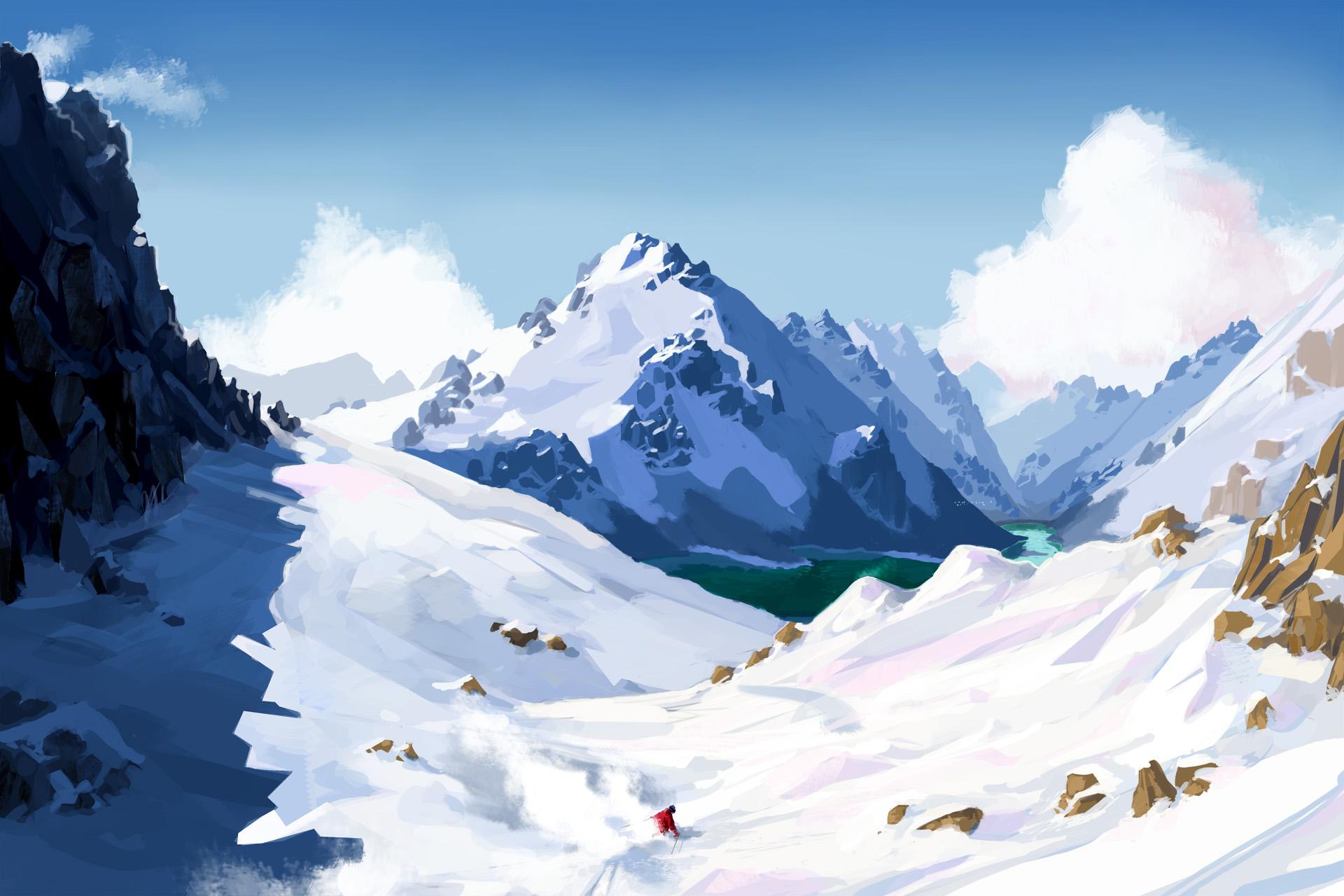 SNOW - Adrenalinové lyžování na CryEngine 3 54977
